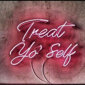 Treat yourself. You deserve it!!! ♡